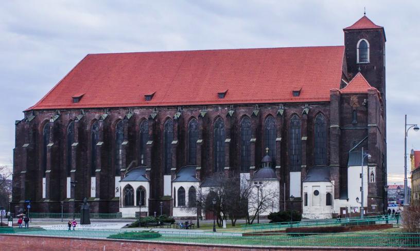 kościół na piasku w wrocław