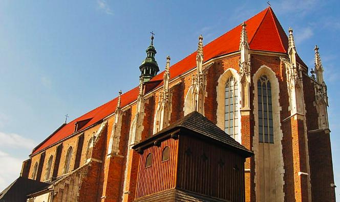 kościół św. Katarzyny Aleksandryjskiej w krakowie - dzieje i historia