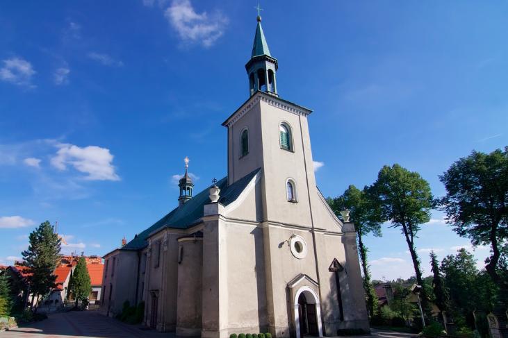 kościół w toszku