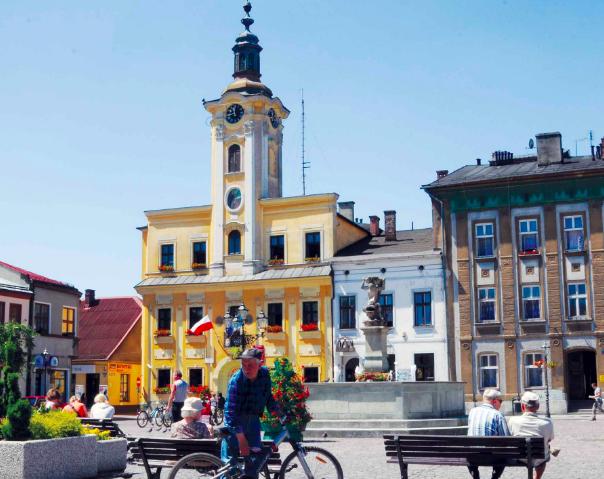 skoczew - miasto ze świątyniami i kościołem